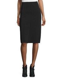 Rag & Bone Phoebe Stretch Pencil Skirt Black