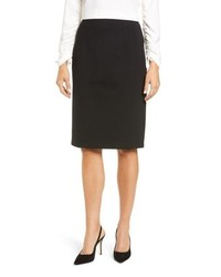 Halogen Ponte Pencil Skirt