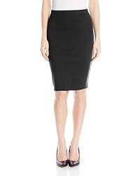 Star Vixen Below Knee Pencil Skirt With Back Slit