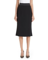 Dolce & Gabbana Stretch Cady Pencil Skirt