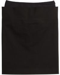Maison Margiela Stretch Cotton Pencil Skirt