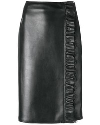Twin-Set Runched Detail Pencil Skirt