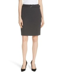 BOSS Vumano Dot Dessin Stretch Suit Skirt