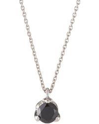 Roberto Coin 18k Gold Necklace With Black Diamond Pendant