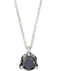 Roberto Coin Black Diamond Pendant Necklace