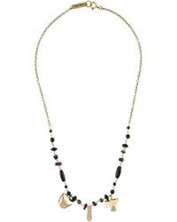 Isabel Marant Beaded Charm Necklace