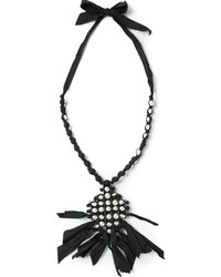 Lanvin Faux Pearl Pendant Necklace