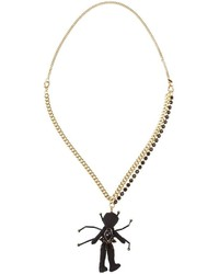 Marni Human Spider Pendant Necklace