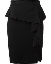 Emilio Pucci Side Ruffle Peplum Skirt