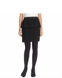LOFT Tall Crepe Twill Peplum Skirt