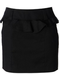 RED Valentino Peplum Mini Skirt