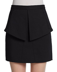 Tibi City Peplum Skirt