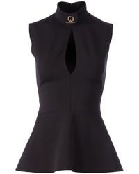 Givenchy peplum sleeveless blouse medium 256609