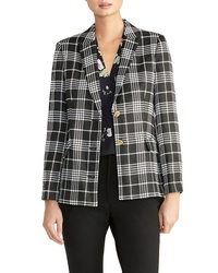 Rachel Roy Collection Plaid Blazer