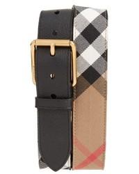 Burberry Mark House Check Belt