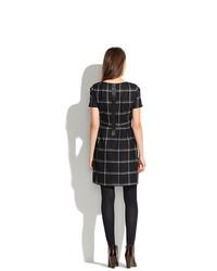 231496175a3 ... Madewell Twirl Dress In Windowpane Plaid ...