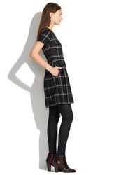 e4a65651599 ... Madewell Twirl Dress In Windowpane Plaid