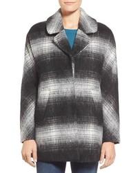 Erin blurry plaid coat medium 517179
