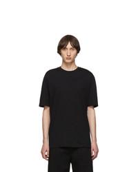 Lanvin Black Plaid Detail T Shirt
