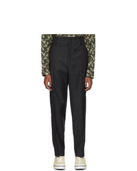 Isabel Marant Black Pao Trousers