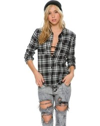 Volcom Brawl Button Flannel Shirt