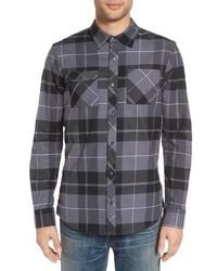 Nike Sb Holgate Regular Fit Plaid Flannel Shirt