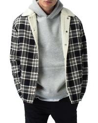Zanerobe Plaid Flannel Jacket With Faux