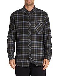 Black Plaid Long Sleeve Shirt
