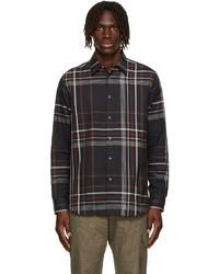 Paul Smith Black Check Tailored Shirt