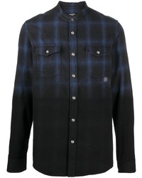 Balmain Checked Cotton Shirt