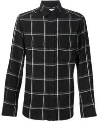 Checked plaid shirt medium 457758