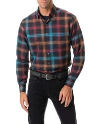 Rodd & Gunn Freemans Bay Sports Fit Plaid Button Up Shirt
