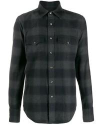 Tom Ford Long Sleeved Check Shirt
