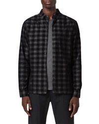 AllSaints Pinehurst Plaid Button Up Shirt