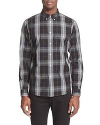 Ps extra trim fit plaid sport shirt medium 457759