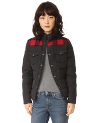 Penfield Rockford Plaid Yoke Down Jacket