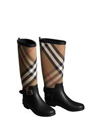 Burberry Check Rain Boot