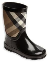 9ebcc0b851bc1 Burberry 13.5 Out of stock · Burberry Toddlers Rubber Check Cotton Rain  Boots