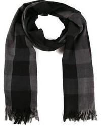Checked scarf medium 96244