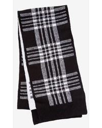 Express Wool Blend Plaid Scarf