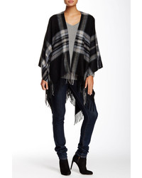 14th Union Oversized Plaid Ruana