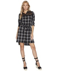 Bishop + Young Plaid Shirt Dress Dress