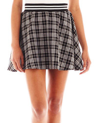 jcpenney Almost Famous Plaid Skater Skirt