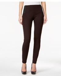 Plaid skinny pants medium 3649010