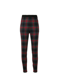 Ermanno Scervino Skinny Fit Plaid Trousers