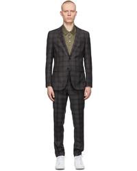 BOSS Grey Novan6ben2 Suit