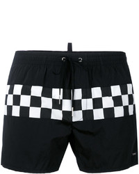 DSQUARED2 Check Swim Shorts