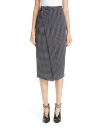 Jason Wu Wool Check Skirt