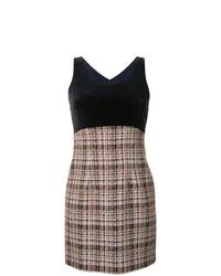 Loveless Plaid Sleeveless Dress