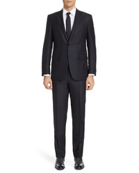 Ermenegildo Zegna Classic Fit Plaid Wool Suit